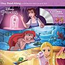 Disney Princess 迪士尼公主故事有聲讀本 (四平裝繪本+一CD)