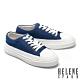 休閒鞋 HELENE SPARK 簡約率性牛仔布厚底休閒鞋-藍 product thumbnail 1