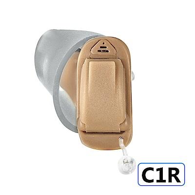Mimitakara耳寶 數位8頻深耳道式助聽器-右耳 C1R [輕、中度聽損適用]