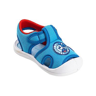 迪士尼童鞋 米奇 輕量護趾涼鞋-藍