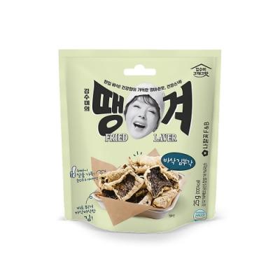 韓味不二【韓國原裝】金守美海苔米脆片(35g)