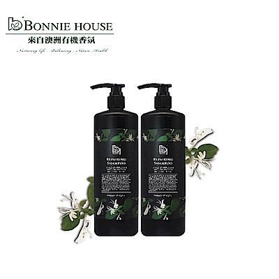 Bonnie House 忍冬精油養護洗髮精1000ml2入組