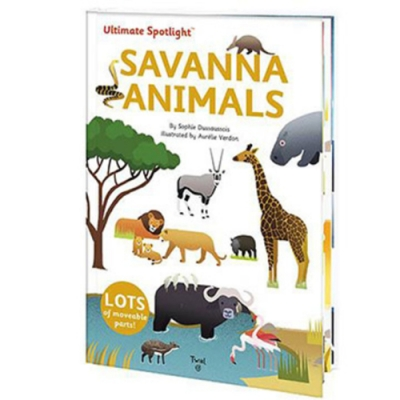 Ultimate Spotlight:Savanna Animals 草原動物翻頁推拉書