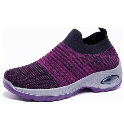 韓國KW美鞋館-優雅舒活印象氣墊鞋-紫色