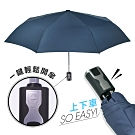 2mm 第三代通勤加固抗風自動開收傘 (深情藍)