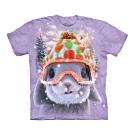 摩達客-美國The Mountain 和平松鼠 純棉環保短袖T恤