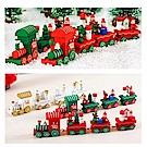 摩達客 耶誕木質小火車-紅色
