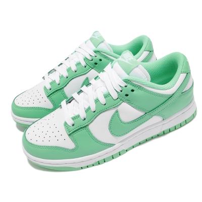 Nike 休閒鞋 Dunk Low 運動 女鞋 經典款 舒適 皮革 簡約 球鞋 穿搭 綠 白 DD1503105