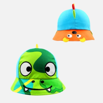 WHY AND 1/2 mini 前後戴恐龍造型帽