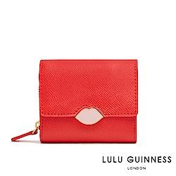 LULU GUINNESS SAFFIE 短夾 (紅)
