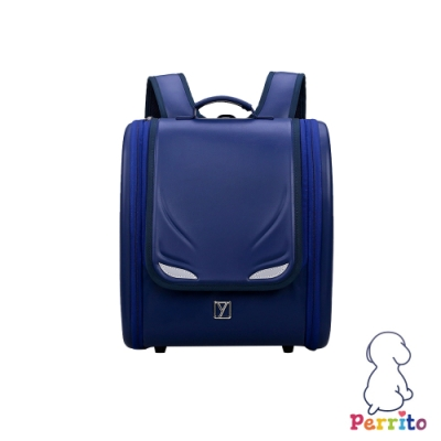 Perrito「英雄學園」日式核心護脊兒童書包 (藍色)