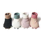 [Kori Deer 可莉鹿] 動物小爪珊瑚絨室內防滑嬰兒襪2雙組禮盒