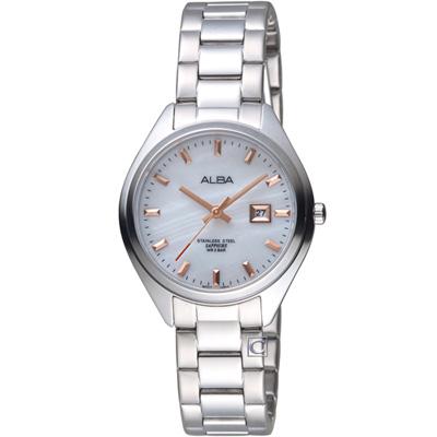 ALBA 漫步都會時尚腕錶(AH 7 R 15 X 1 )白/ 31 mm