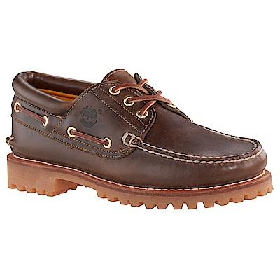 Timberland 男款經典深棕色雷根鞋 | 30003214