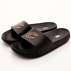 NBA美國職籃-黑騎士隊超輕量拖鞋款-SE4779黑騎士(男段)