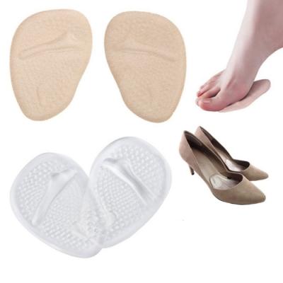 JHS杰恆社abe106口PU矽膠前掌鞋墊蹠骨墊腳掌墊女性高跟鞋的疼痛緩解口口口