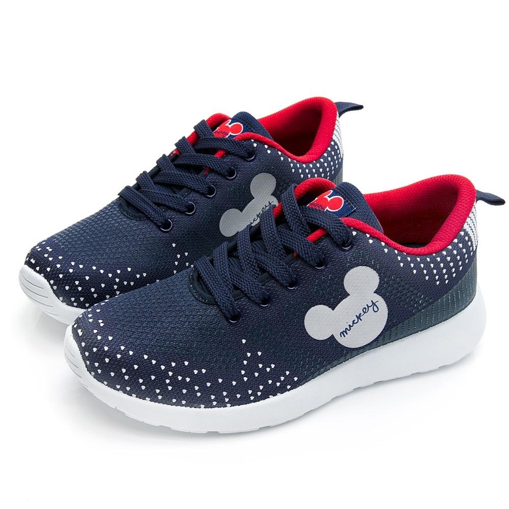 DISNEY米奇點點經典休閒鞋-藍紅-DW5636F6
