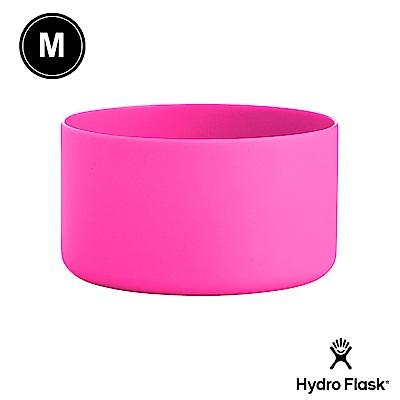 美國Hydro Flask 彈性矽膠防滑瓶套 火鶴粉 M