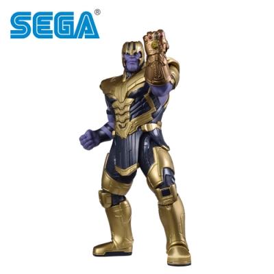 日本正版 復仇者聯盟 薩諾斯 公仔 模型 19cm 終極之戰 漫威英雄 SEGA 356629