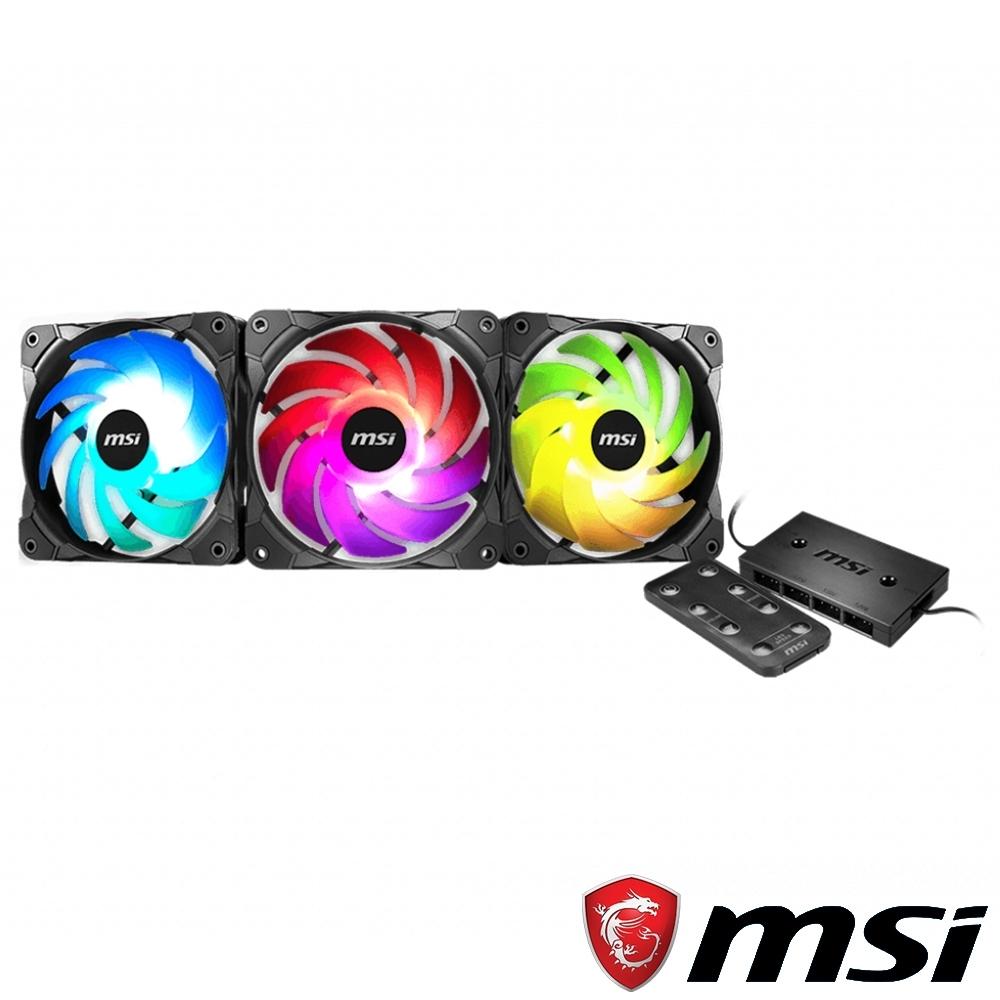 MSI微星 MAX F12A-3H 彩虹風扇組