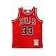 M&N 青少年 G1 Swingman復古球衣 公牛隊 97-98 Scottie Pippen #33 product thumbnail 1