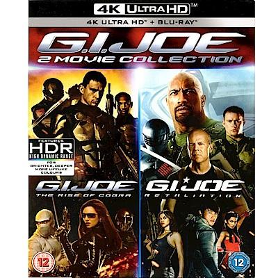 特種部隊 G.I.JOE 1+2 4K UHD + BD