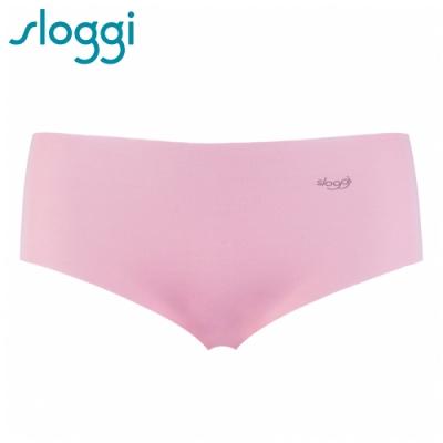 sloggi ZERO Modal 零感波浪型平口無痕褲 櫻花粉