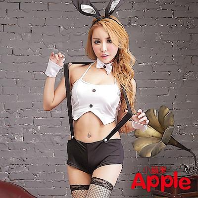 APPLE 兔女郎連身衣三點式制服 AQ111