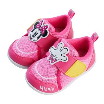 迪士尼童鞋 米妮 異材質拼接寶寶學步鞋