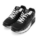 PLAYBOY炫彩行頭 線條氣墊運動鞋-黑白