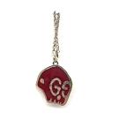GUCCI G LOGO GUCCI GHOST 925純銀雙面項鍊(紅)