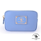 SANTA BARBARA POLO幸福微糖系列 鑰匙零錢包-寧靜藍 SB58-04213