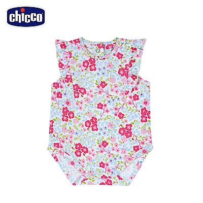 chicco-To Be Baby-花朵連身衣