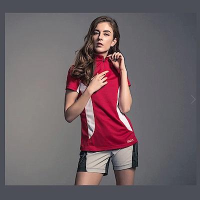 Gfun 女立領吸濕快乾排汗衫(G6URSL1)