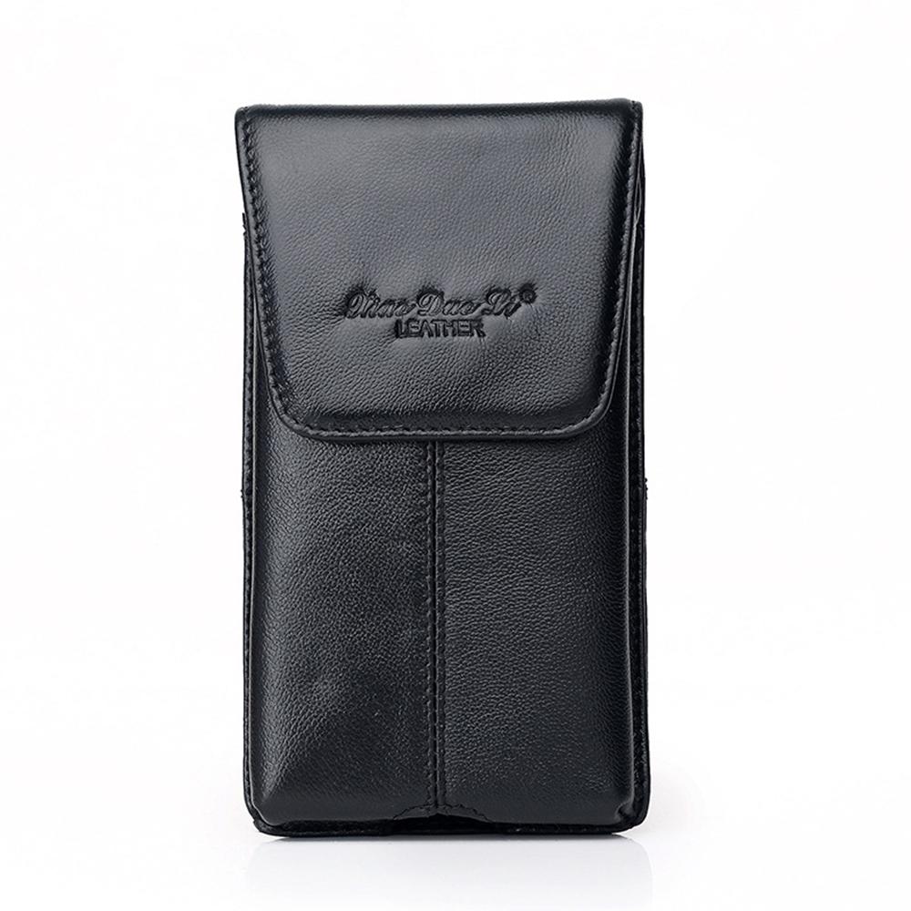 玩皮工坊-真皮頭層牛皮輕薄男士腰掛手機包腰包男包LB528