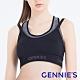 Gennies奇妮-Double集中美型運動哺乳內衣(黑灰GA76) product thumbnail 1