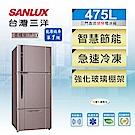 SANLUX台灣三洋 475L 1級變頻3門電冰箱 SR-C475CV1A