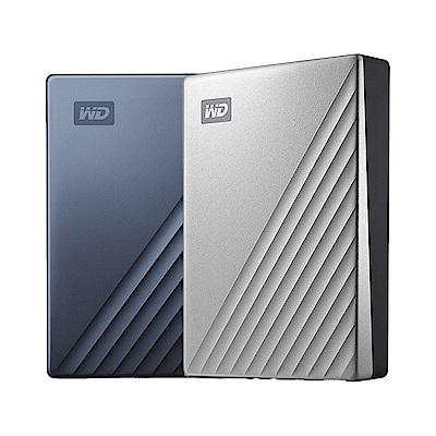 WD My Passport Ultra 4TB 2.5吋USB-C行動硬碟(兩色可選)