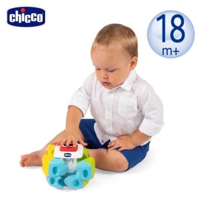 chicco-Smart 2 Play 益智趣味拼磚骰子