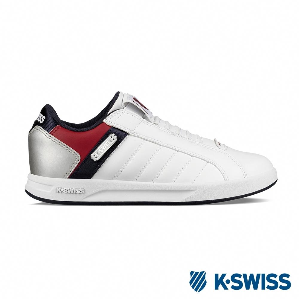 [零碼出清]K-SWISS Lundahl Slip-On S CMF運動鞋-女-白/紅