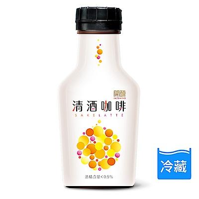 JAZswing開醺 酒香咖啡-清酒拿鐵(265mlx6瓶)