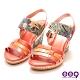 ee9 繽紛夏日質感簡約露趾楔型跟涼鞋  紅色-562372  40 product thumbnail 1