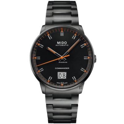 MIDO 美度 COMMANDER 香榭系列大日期機械錶-42mm M0216263305100
