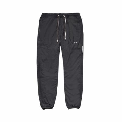 Nike 長褲 Basketball Pants 運動 男款 防風 風褲 縮口 口袋 抽繩 深灰 白 CK6826070