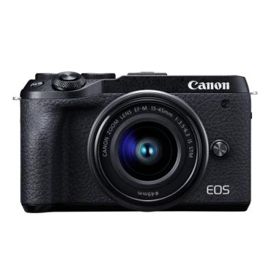 Canon EOS M6 Mark II 15-45mm 變焦鏡組(公司貨)