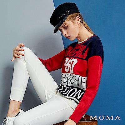 MOMA 緹花針織上衣