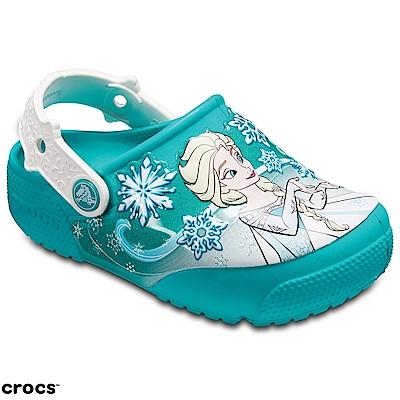 Crocs 卡駱馳 (童鞋) 冰雪奇緣艾莎克駱格 205012-3N9