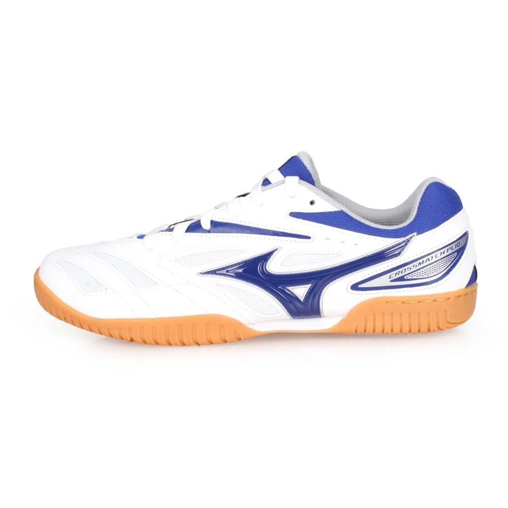 MIZUNO 男 桌球鞋 CROSSMATCH PLIO EV 白藍