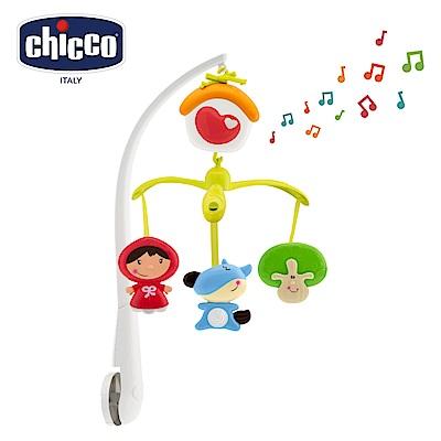 chicco-小紅帽旋轉音樂鈴
