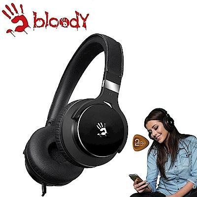 【A4 bloody】雙震膜質音樂耳機 - M510-BK(黑色)